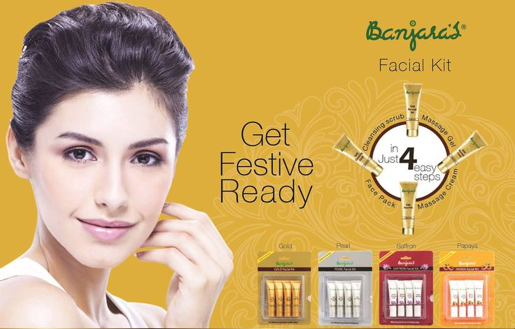 Get festive ready with Banjara's facial kit. For shimmering golden glow use Banjara's Gold facial kit and flaunt yourself during this Diwali   To know more visit: http://www.banjaras.co.in/#facialkit