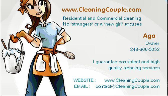 Free Sample Flyer - Start a House Cleaning Business for Maximum