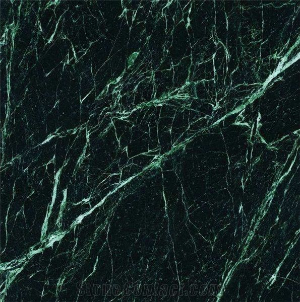Dark Green Marble Tiles Slabs