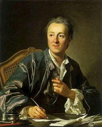 """Denis Diderot 1713-1784 Francie spisovatel -filosofie, estetika, teologie,matematika, fyzika """"Encyklopedie věd, umění a řemesel"""""""