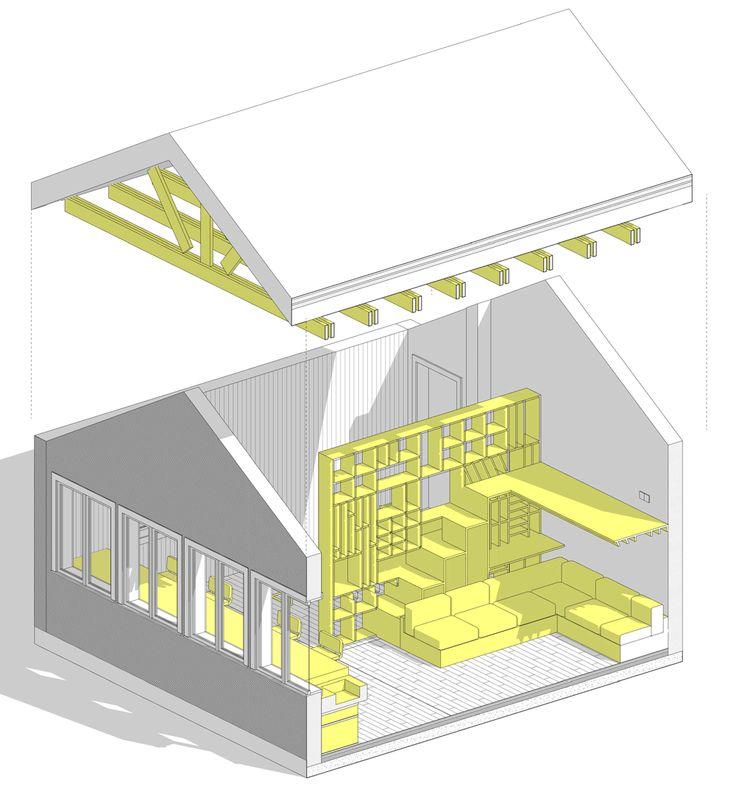 Plus de 1000 idées à propos de DWELL sur Pinterest Ateliers d - plan maison r 1 gratuit