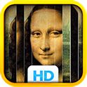 Art Puzzles: Sliding Slices  This fun app introduces kids and adults to 110 wonderful public domain paintings in art history — from Da Vinci to Van Gogh.   The puzzles are created by slicing the painting into strips and scrambling the slices. To solve the puzzle simply slide the slices into the right position. !