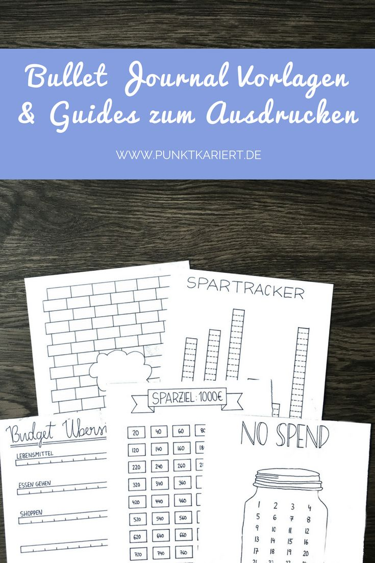21 best Planer Vorlagen & Printables images on Pinterest | Free ...
