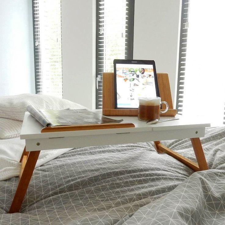 Zooo blij met deze laptoptafel van @westwingnl! Wat is 'ie leuk hè?! Mocht je Westwing.nl nog niet kennen neem dan zeker even een kijkje op hun Instagramaccount.