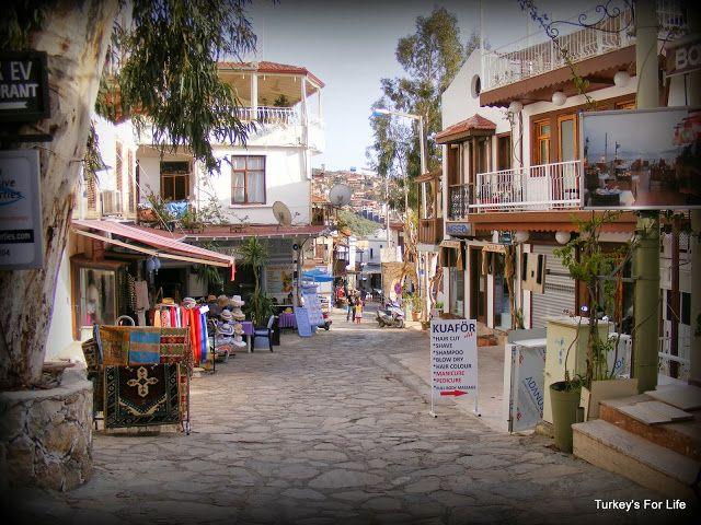#Kalkan street scene, #Turkey