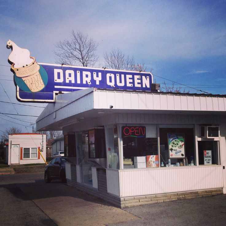 Oldest walk up Dairy Queen in existence. Three opened on the same day in 1954. This Port Colbourne Dairy Queen is the last one left.