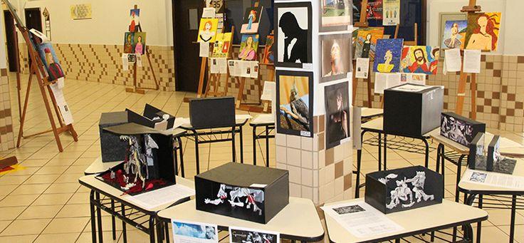 Exposição mostra trabalhos de Arquitetura e Artes Visuais