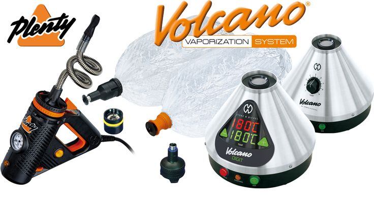 The biggest one - Volcano Vaporizer!