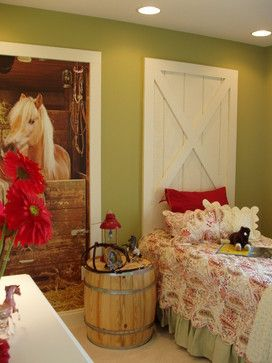Kids Photos Horses Design Ideas, Pictures, Remodel, and Decor - page 13