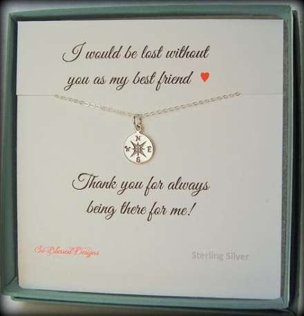 23 ideas birthday gifts for best friend friendship sterling silver
