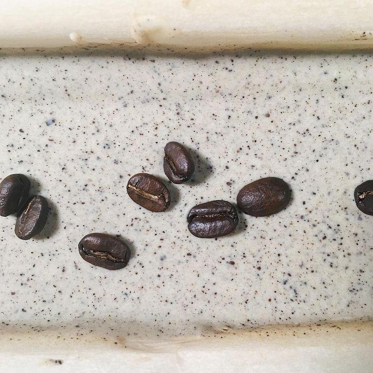 almond & coffee soap