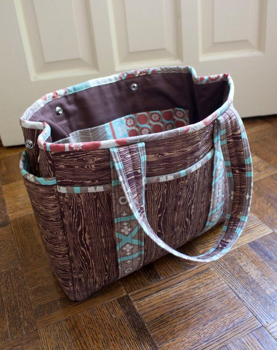 I want this if it's a boy...boys diaper bag // modern joel dewberry by olivetreetextiles, $119.00