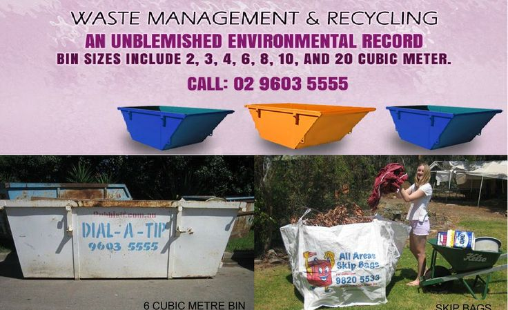 Superior waste management services at cost-effective prices! DIAL-A-TIP is at the forefront of providing exceptional quality #rubbish removal to clients, along with rubbish bin hire! The firm operates with a green approach, recycling 85% of the collected rubbish.