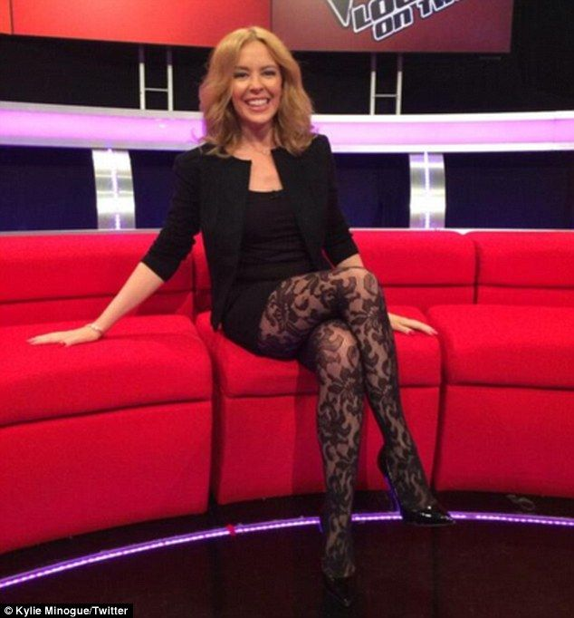 Kylie Minogue 25th March 2014