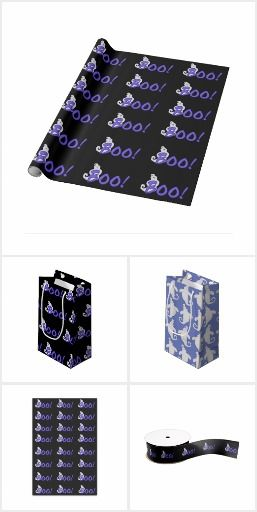 Ghost Gift Wrap And More