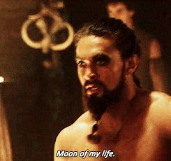 Pin for Later: 19 Times Game of Thrones's Khal Drogo Made You Happy to Be Alive When He Looks at Dany the Way You Look at Pizza