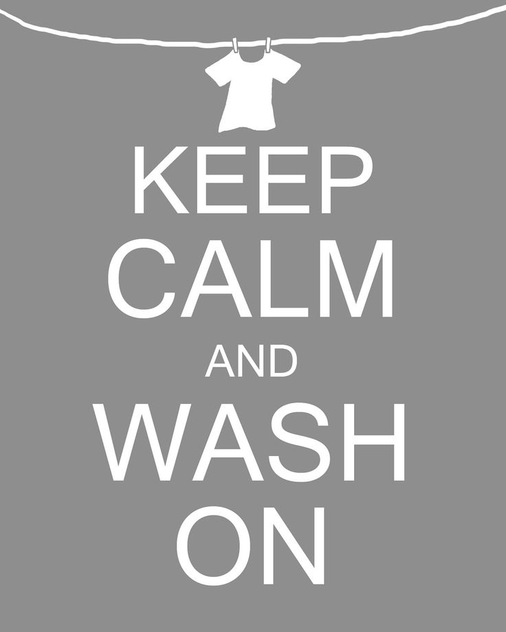Keep Calm and Wash On Laundry Room Art Digital PRINTABLE 8x10 JPEG File Multiple Colors Available