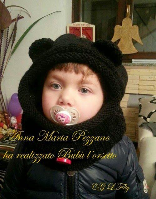 Fantasia e manualità: Bubu' l'orsetto