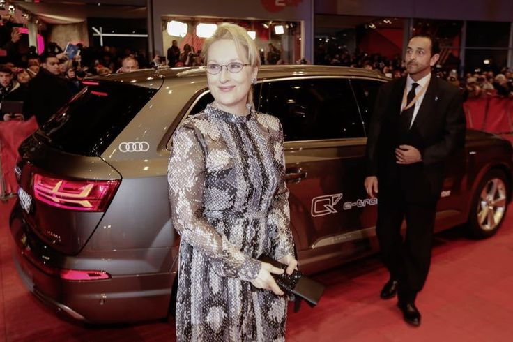 Berlinale 2016: president of the jury Maryl Streep arriving at the opening