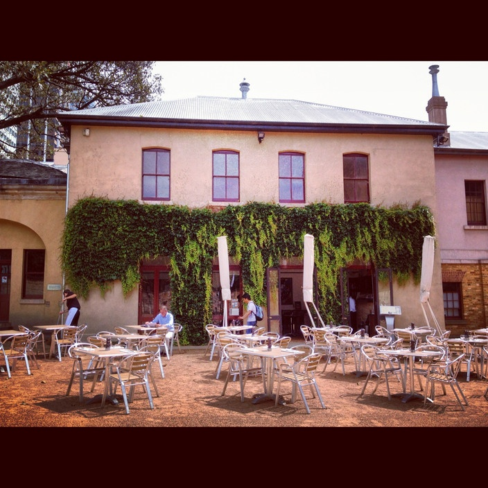 Hyde Park Barracks Cafe, Sydney NSW #australia #travel
