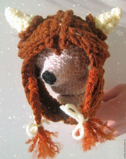 Шапка викинга с рогами для маленьких собак. Handmade на заказ.одежда для маленьких собак. Handmade на заказ. Одежда для собак ручной работы. Заказать шапка для собак, шапки для собаки, одежда для собаки, для йорка, мопса, тойчика.