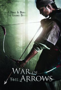 War of the Arrows : Korean movie. A masterpiece. It takes archery to amazing heights. For a change, no martial arts, just war with bows and arrows. Beautiful use of sound.