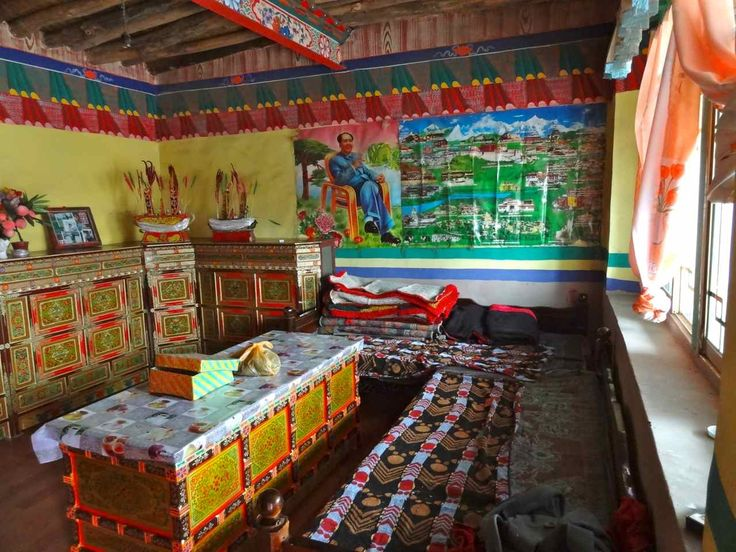 Beautiful Decorations In A Tibetan House Allonz Y Let 39 S