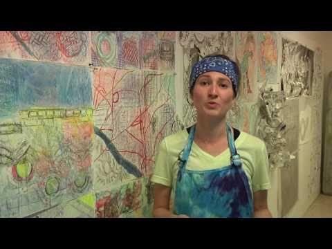 UF Masters in Art Ed Miranda Meeks Interview 11 2 16 - YouTube