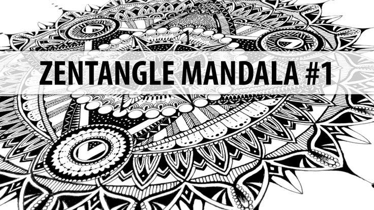 Zantangle Mandala #1