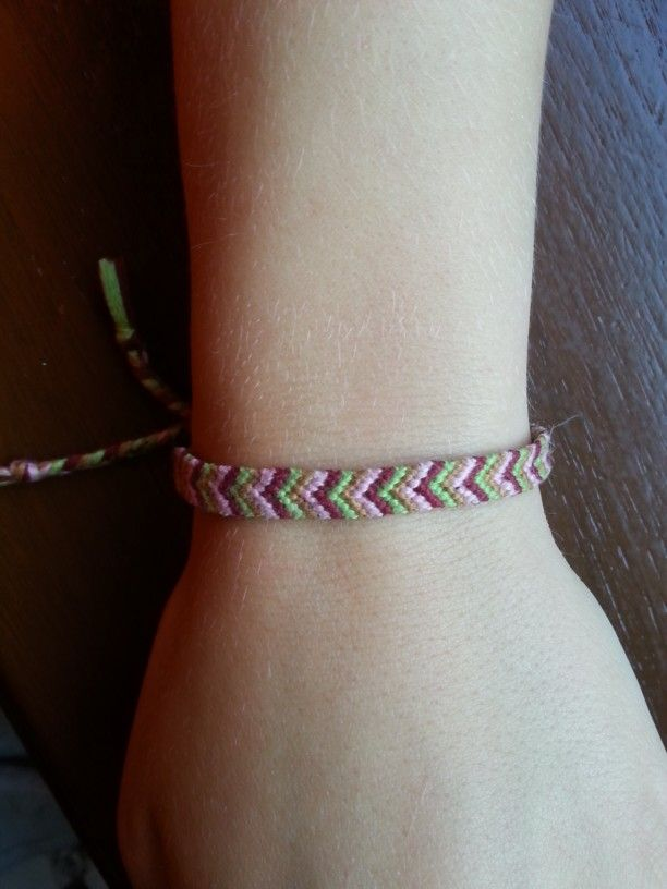 "Mulina bracelet ""herringbone"""
