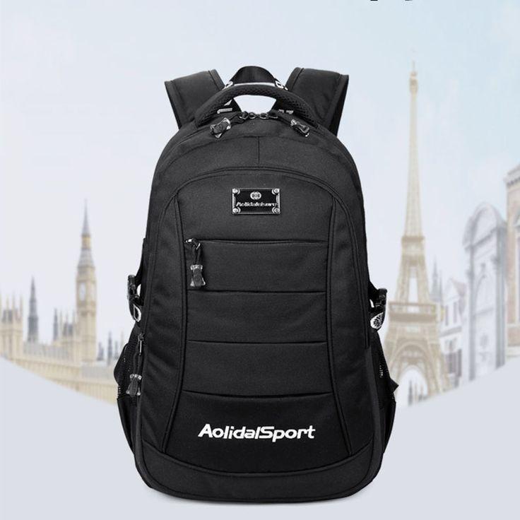 $37.29 (Buy here: https://alitems.com/g/1e8d114494ebda23ff8b16525dc3e8/?i=5&ulp=https%3A%2F%2Fwww.aliexpress.com%2Fitem%2FMen-Backpack-Youth-Solid-Male-Backpack-High-Quality-Men-Travel-Bags-Teenage-Backpacks-For-Teen-Boys%2F32710916006.html ) Men Backpack Youth Solid Male Backpack High Quality Men Travel Bags Teenage Backpacks For Teen Boys Bagpack Teenagers Mochila for just $37.29