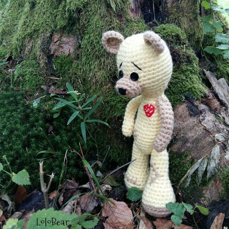 Crochet bear..