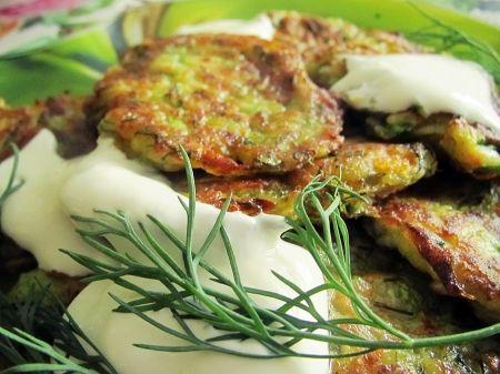 Оладьи из кабачков - рецепт без яиц | Вегетарианские рецепты «Приготовим с любовью!»