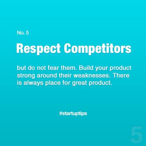 Start-Up Tips no. 5