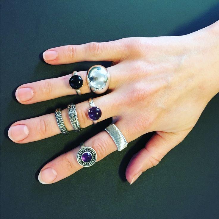 Masser af fine ringe til enhver lejlighed