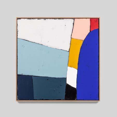 Colourblock 2 | Sarah Brooke | Framed PaintingThe Block Shop - Channel 9