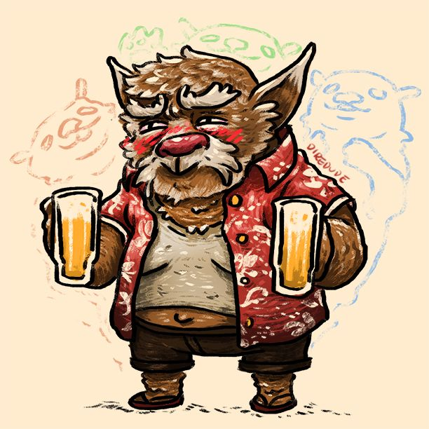 They call him the Brewmaster. Why? just look at his credentials: Starlager 2013 - 1st place The InternationAle 2013 - 1st place DreamHack Brewcharest 2014 - 1st Place He wins every college drinking competition. It's as if he has 3 more guts inside...
