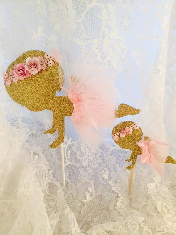 Baby Girl Ballerina Cake Topper - Set of 10 Cupcake Toppers - Ballerina Party Decorations - Ballet - Baby Shower - Customized To Your Colors