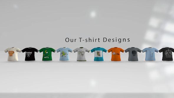 Shirt Presentation Pack E3D