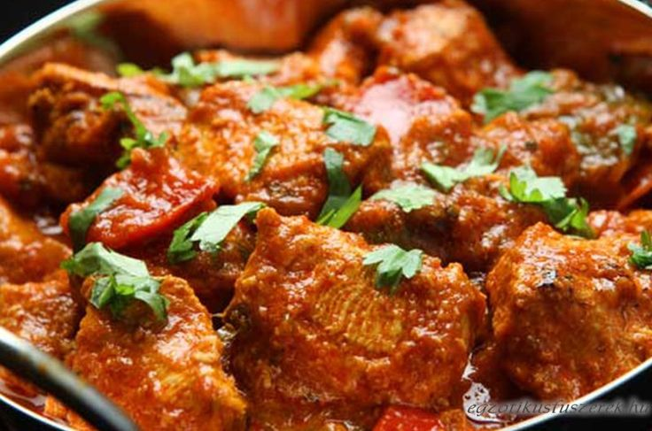 Jalfrezi Csirke Curry