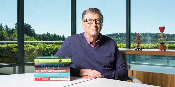 10 كتب ينصح بقرائتها الملياردير و مؤسس مايكروسوفت بيل جيتس