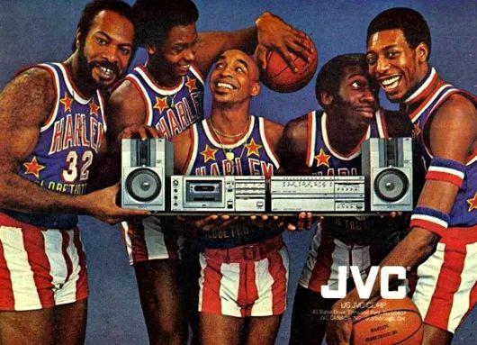 JVC & Harlem Globetrotters 1981