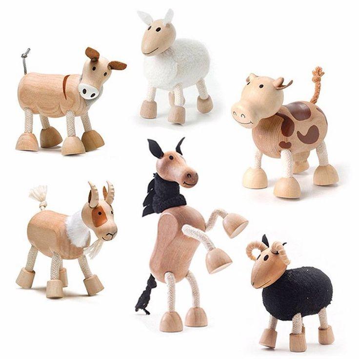 Old MacDonald had a farm #KydLoves #anamalz #christmasiscoming #woodentoys