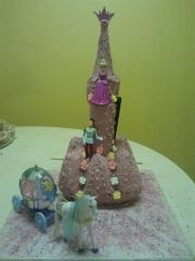 4th birthday - princess castle