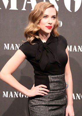 Scarlett Johansson - High Waist Skirt