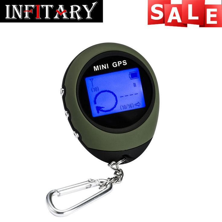 Portable Mini GPS Trackers Receiver Handheld Location Finder USB Rechargeable with Electronic Compass for Outdoor Travel Car