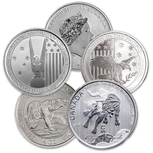 All Coins Are Produced By A Sovereign Mint And Are Official Legal Tender In 2020 Buy Silver Coins Silver Bullion Coins Silver Coins For Sale
