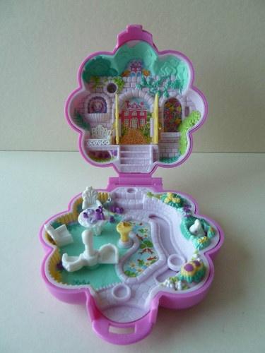 Polly Pocket Garden Surprise 1990 Bluebird Toys Keepsake Collection Ref 950051