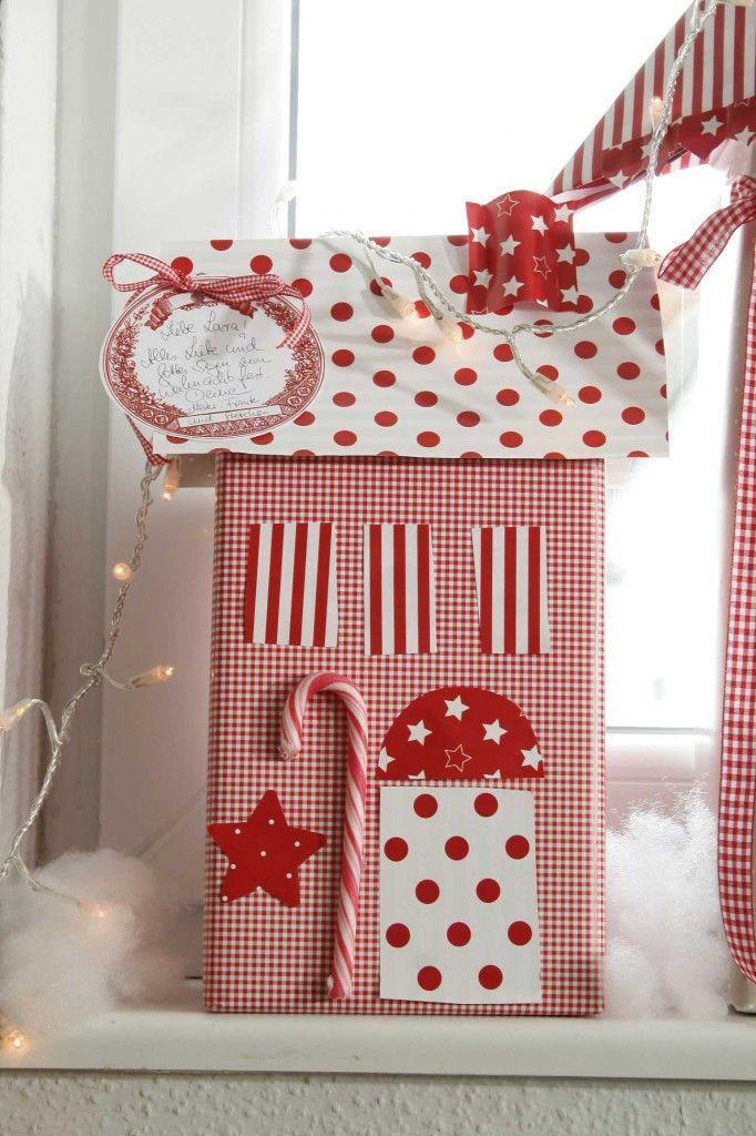 DIY Dezember acufactum Weihnachtsdorf Paket Zuckerstange
