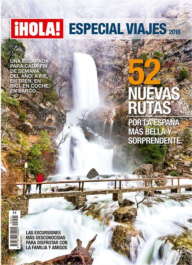 ¡Ya a la venta! el nuevo ¡Hola! Especial Viajes desde hoy en tu quiosco. 52 rutas, una para cada fin de semana del año, por la España más bella y sorprendente. #Viajes #revistas #revistasdeviaje #España #rutas #findesemana #escapadas